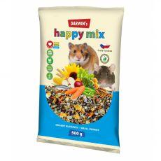 Darwin's Happy Mix karma dla drobnych gryzoni 500 g