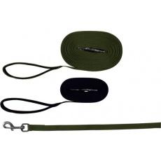 Smycz treningowa dla psów, zielona - 10m