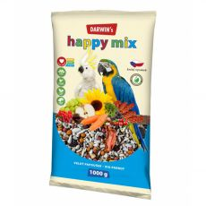 Darwin's Happy Mix pokarm dla dużych papug 1 kg