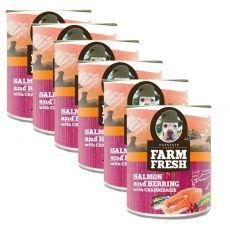 Farm Fresh - Salmon and Herring with Cranberries 6 x 750 g