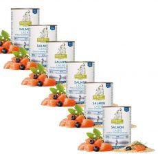 ISEGRIM Adult River: Łosoś z proso i jagodami 6 x 400 g