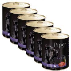 Konserwa Piper Adult z królikiem 6 x 800 g