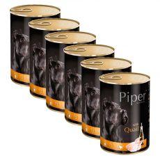 Konserwa Piper Adult z przepiórką 6 x 400 g