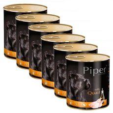 Konserwa Piper Adult z przepiórką 6 x 800 g