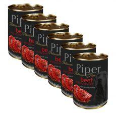Konserwa Piper Platinum Pure wołowina i brązowy ryż 6 x 400 g