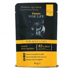 Fitmin Cat For Life Chicken saszetka 85 g