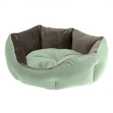 Ferplast Queen 50 legowisko dla psa zielono-szare 50 x 40 cm