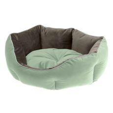 Ferplast Queen 60 legowisko dla psa zielono-szare 60 x 46 cm