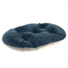 Ferplast Prince 65 / 6 poduszka dla psa niebiesko-beżowa 65 x 42 cm