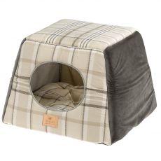 Ferplast Edinburg domek dla kotów brązowy 44 x 44 cm