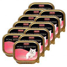 Animonda Vom Feinsten Adult Cats - z sercem z indyka 12 x 100g