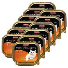 Animonda Vom Feinsten Adult Cats - drób i cielęcina 12 x 100g