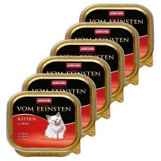Animonda Vom Feinsten Kitten - wołowina 6 x 100 g