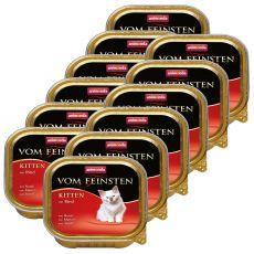 Animonda Vom Feinsten Kitten - wołowina 12 x 100 g
