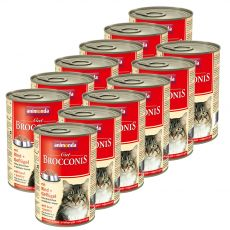 Animonda Cat BROCCONIS wołowina i drób 12 x 400 g