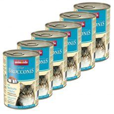 Animonda Cat BROCCONIS dorsz i kurczak 6 x 400 g
