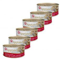 Konserwa Applaws Cat Chicken and Duck, 6 x 70 g