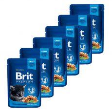Saszetka BRIT Premium Kitten Chicken Chunks 6 x 100 g