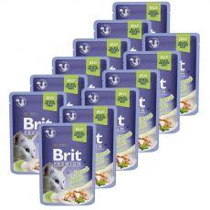 Saszetka BRIT Premium Cat Trout in Jelly 12 x 85 g