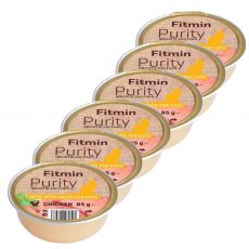 Fitmin Cat Purity tacka z kurczakiem 6 x 85 g