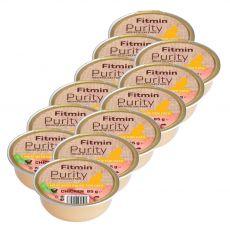 Fitmin Cat Purity tacka z kurczakiem 12 x 85 g