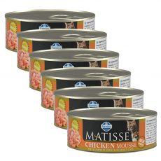 Farmina MATISSE cat Chicken 6 x 85 g, 5+1 GRATIS