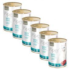Konserwa Piper Cat Sterilised z tuńczykiem 6 x 400 g