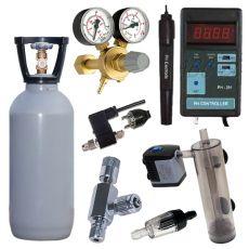 Zestaw CO2 + kontroler pH, 1,5 kg