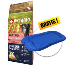 ONTARIO Adult Large - chicken & potatoes 12kg+ PREZENT