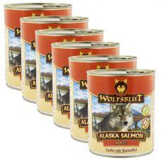 Konserwa WOLFSBLUT Alaska Salmon 6 x 800 g
