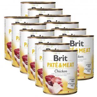 Konserwa Brit Paté & Meat Chicken 12 x 800 g
