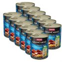 Konserwa GranCarno Fleisch Adult wędzony węgorz+ziemniaki - 12 x 800g