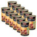 Konserwa GranCarno Fleisch Adult wołowina + indyk - 12 x 400 g