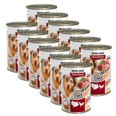 Konserwa New BEWI DOG – drób, 12 x 400g