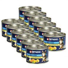 Konserwa ONTARIO Multi Fish z olejem z łososia – 12 x 200g