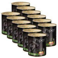 Konserwa Piper Adult z dziczyzną i dynią 12 x 800 g