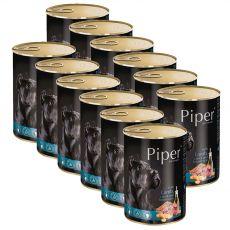 Konserwa Piper Adult z jagnięciną, marchwią i brązowym ryżem 12 x 400 g