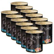 Konserwa Piper Adult z jagnięciną, marchwią i brązowym ryżem 12 x 800 g