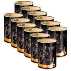 Konserwa Piper Adult z przepiórką 12 x 400 g