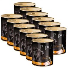Konserwa Piper Adult z przepiórką 12 x 800 g