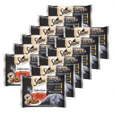Sheba Selection Soczysta selekcja saszetek 12 x (4 x 85 g)
