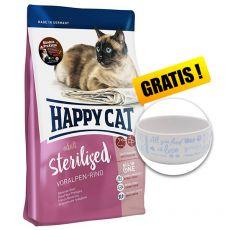 Happy Cat Sterilised Voralpen Rind / Wołowina 4 kg