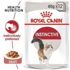 Royal Canin INSTINCTIVE 12 x 85g - saszetka