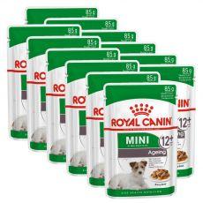 Royal Canin Mini Ageing saszetka dla starszych psów małych ras 12 x 85 g
