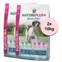 Eukanuba Nature Plus+ Adult Grain Free Salmon 2 x 10kg