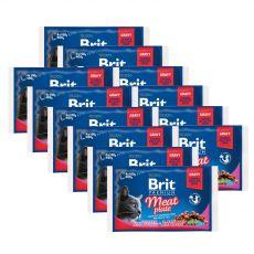 Saszetki BRIT Premium Cat Meat Plate 12 x (4 x 100 g)