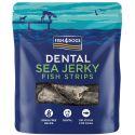 FISH4DOGS Dental Sea Jerky Fish Strips 100 g