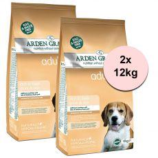 ARDEN GRANGE Adult rich in fresh pork & rice 2 x 12 kg