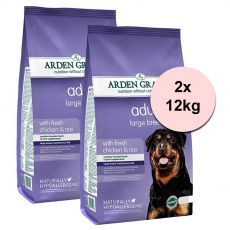 ARDEN GRANGE Adult Large Breed with fresh chicken & rice 2 x 12 kg