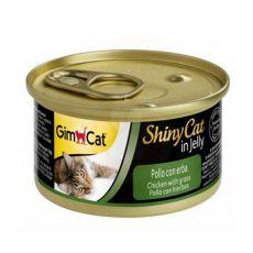 GimCat ShinyCat in jelly kurczak 70 g